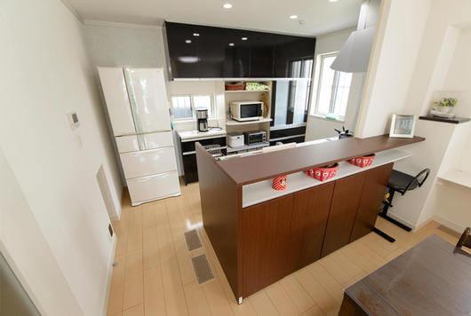 キッチン背面収納イメージ